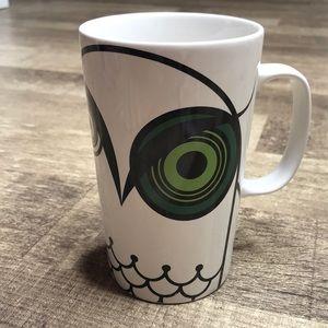 Starbucks 2014 Green Eye Owl 16oz Tall Coffee Mug